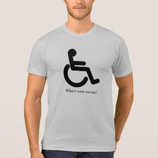 Camiseta ¿Cuál es su excusa?