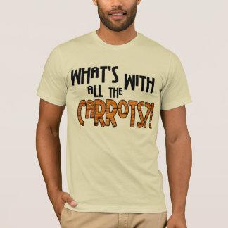 Camiseta ¿Cuál está con todas las zanahorias?
