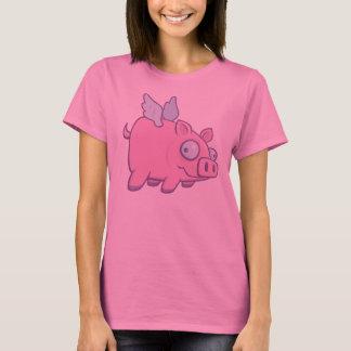 Camiseta Cuando los cerdos vuelan