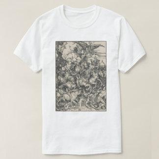 Camiseta Cuatro jinetes de la apocalipsis por Durer