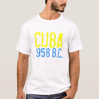 Camiseta CUBA 1958, (antes de castro)