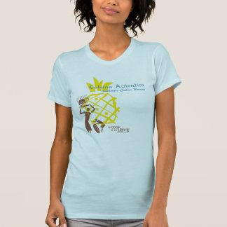 Camiseta cubana auténtica de la mujer