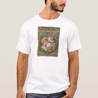 Camiseta Cubierta 1905 del duende malicioso de Santa