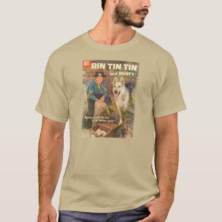 Camiseta Cubierta 1958 de cómic de Rin TinTin de la