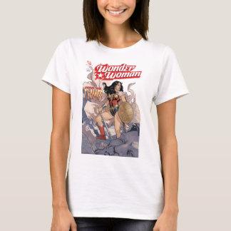 Camiseta Cubierta cómica #13 de la Mujer Maravilla