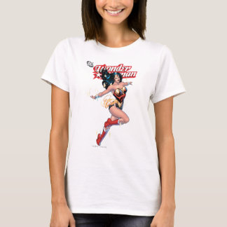 Camiseta Cubierta cómica de la Mujer Maravilla