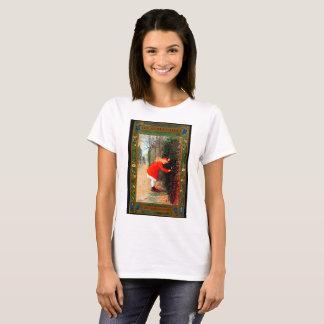 Camiseta Cubierta de libro del jardín secreto