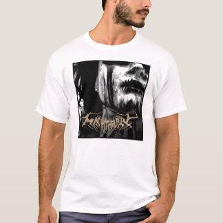 Camiseta Cubierta del álbum del día de Wither de la mente