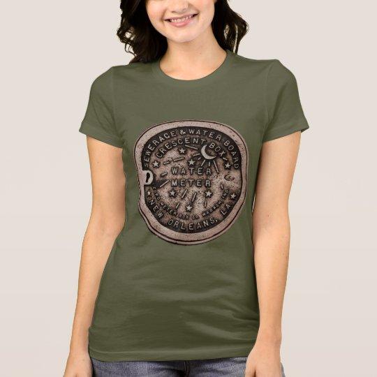 Camiseta Cubierta del contador del agua de New Orleans