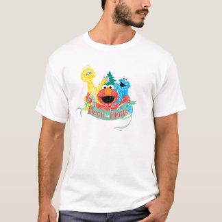 Camiseta Cubierta el Sesame Street de Pasillo