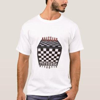 Camiseta Cubo del ajedrez