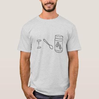 Camiseta Cuchareo la mantequilla de cacahuete