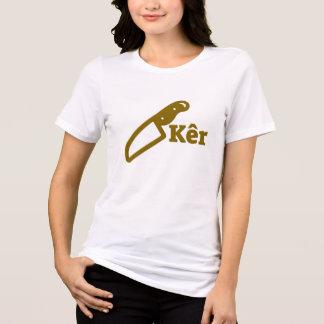 Camiseta Cuchillo y el kêr del texto