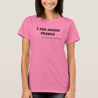Camiseta cuello barco del #Iseenakedpeople