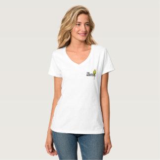 Camiseta Cuello en v nano de Hanes - la resistencia del