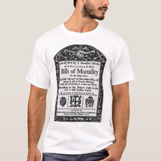 Camiseta Cuentas de la mortalidad 1665