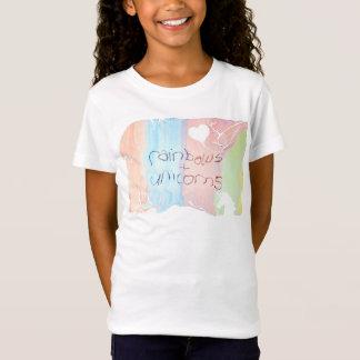 Camiseta Cuento de hadas encantado del arco iris y del