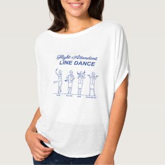 Camiseta Cuerpo de baile del asistente de vuelo