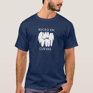 Camiseta ¡Cuevas del en de Buceo!  ¡Salto de la cueva en el