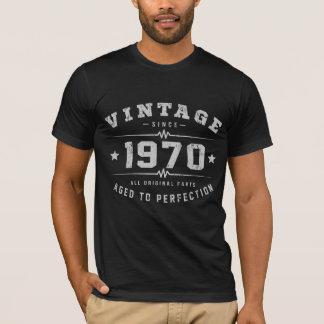 Camiseta Cumpleaños del vintage 1970