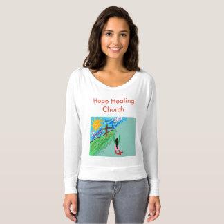 Camiseta curativa del cristiano de la iglesia de