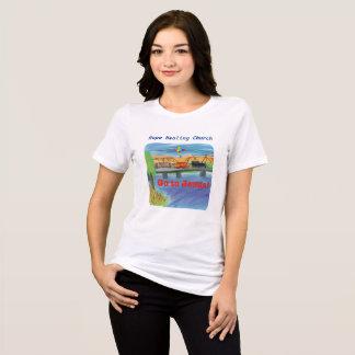 Camiseta curativa del cristiano del tren de Jesús