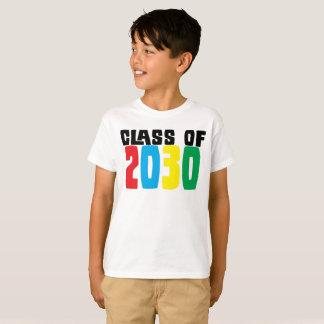 Camiseta Curso de graduación de 2030