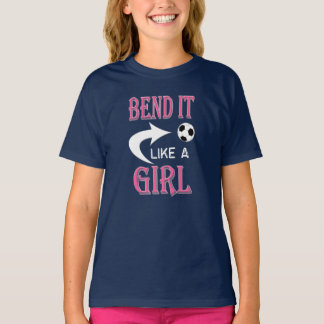 Camiseta CURVA tiene gusto de un fútbol de los chicas del