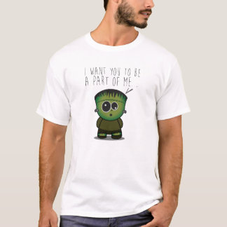 Camiseta Cute Frankenstein Love T-Shirt