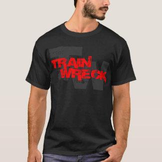 Camiseta cwf de la ruina del tren