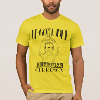 Camiseta D.B. Tonelero - moneda americana negociable