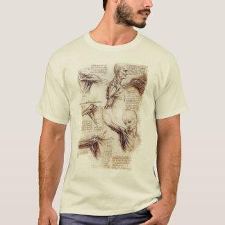 Camiseta da Vinci -- Bosquejo del hombro