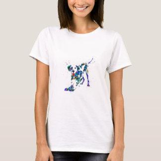 Camiseta Dalmatian, perro dálmata, Dalmatian de la acuarela