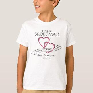 Camiseta Dama de honor del joven del VIP del banquete de