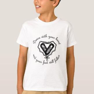 Camiseta Danza con su corazón…