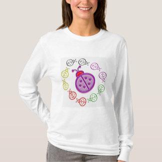 Camiseta Danza de la mariquita: Insectos de señora BUG n