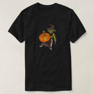 Camiseta Danza del brujo de la bruja de la calabaza de