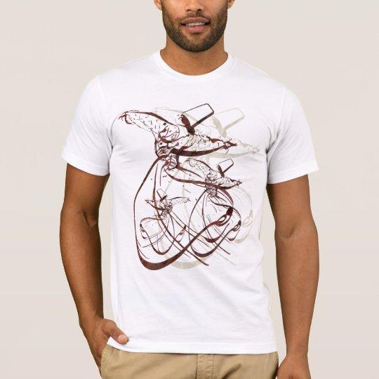 Camiseta Danza girante de Nastaleeq Sufi