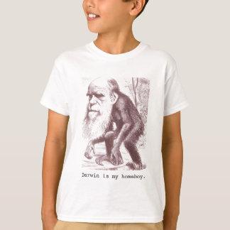 Camiseta Darwin es mi homeboy