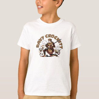 Camiseta Davy retro Crockett