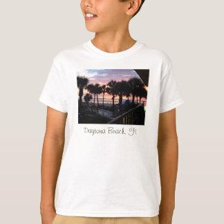 Camiseta Daytona Beach, salida del sol de FL