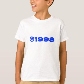 camiseta de 1998 niños 2-Sided