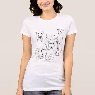 Camiseta de 3 Iggy para las mujeres
