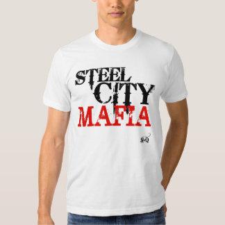 Camiseta de acero de la mafia de la ciudad
