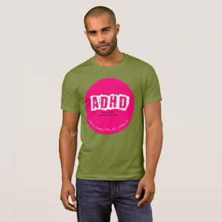 Camiseta de ADHD (presentación combinada)