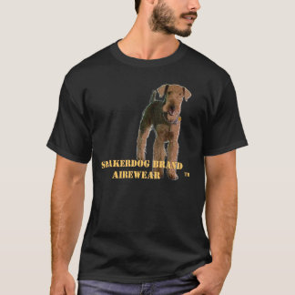 "Camiseta de Airedale Terrier ""Sneakerdog"""