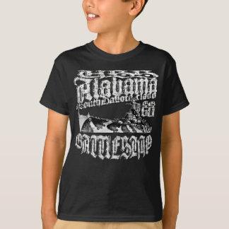 Camiseta de Alabama del acorazado