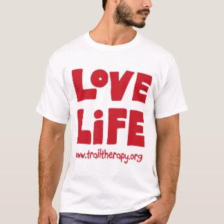 Camiseta de algodón (grande) de la vida del amor