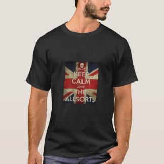 Camiseta de Allsorts - guarde la calma