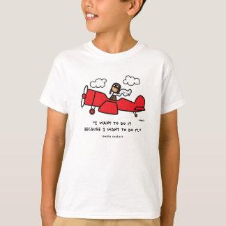 Camiseta de Amelia Earhart